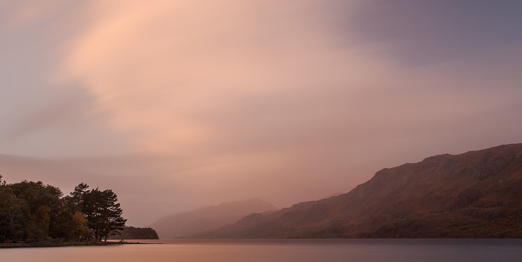 Loch Maree with big stopper. No dehaze