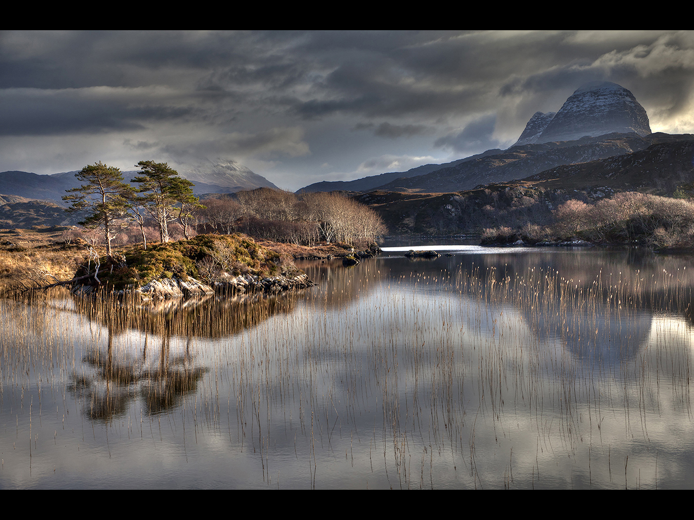 Suilven mountain view